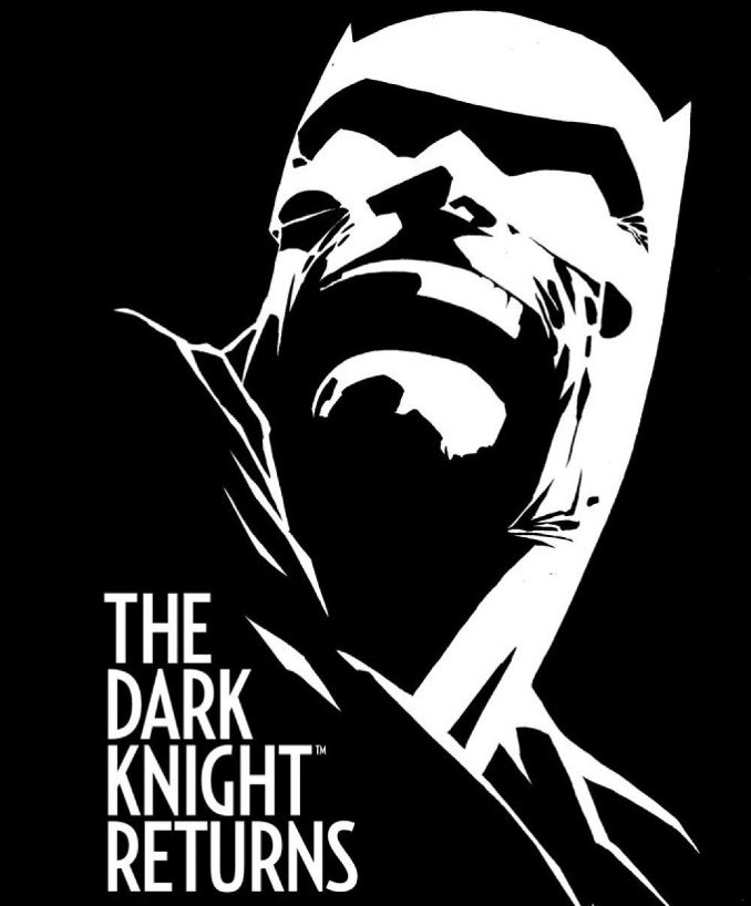 Batman Frank Miller DKR Dark Knight Returns