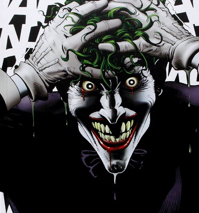 Batman Souriez Killing Joke Alan Moore