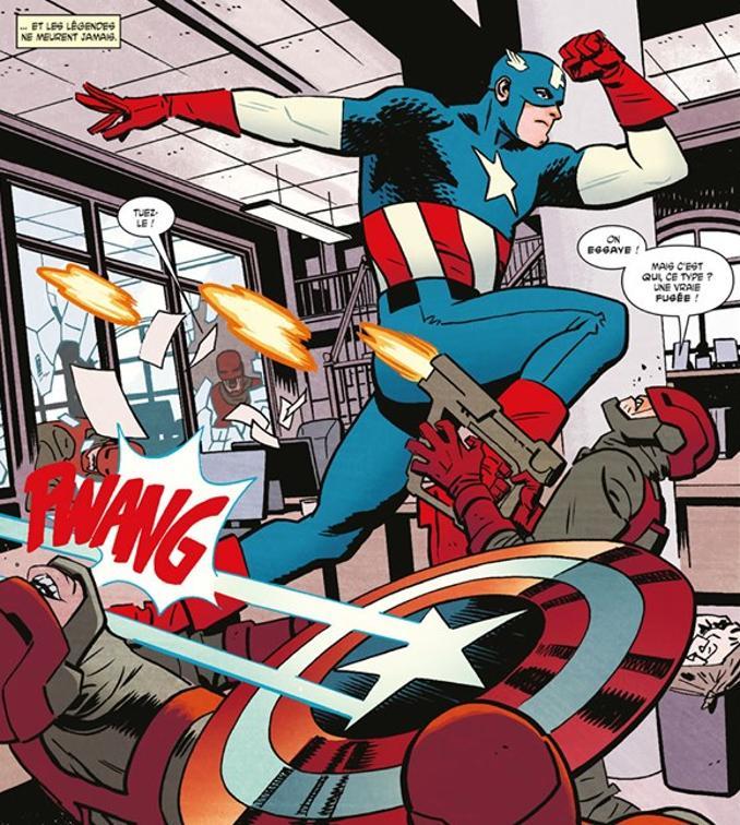 captain America patrie des braves