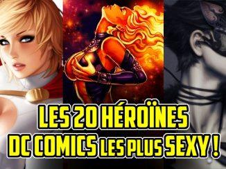 héroines DC comics sexy