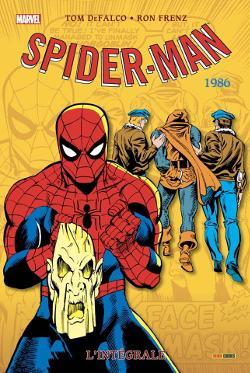 intégrale amazing spider-man 1986