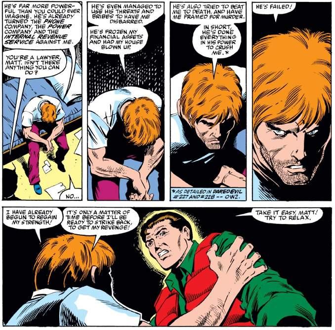 Matt Murdock Renaissance Daredevil