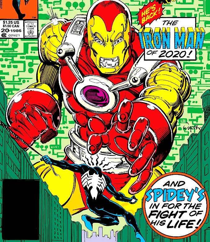 Iron Man 2099 annual