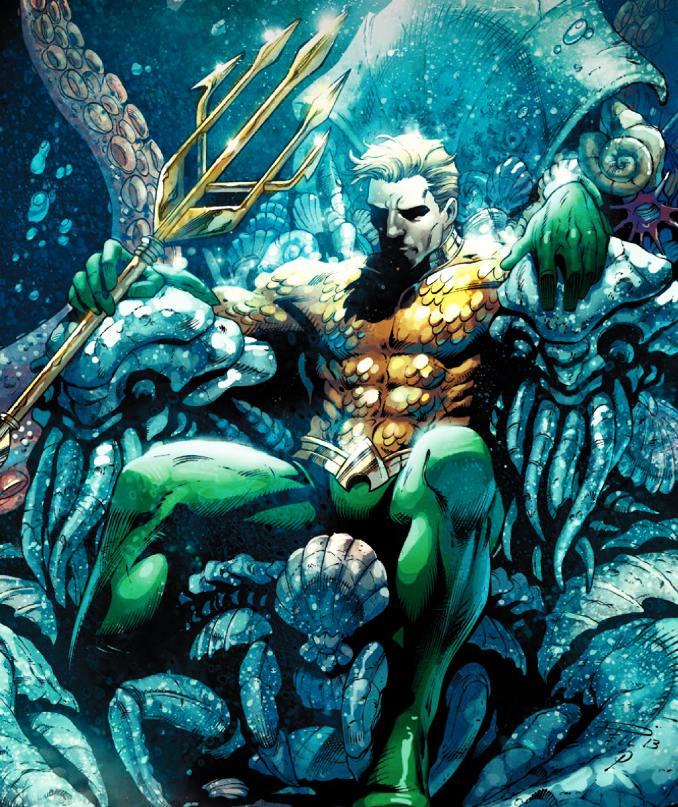 Aquaman rois DC Comics