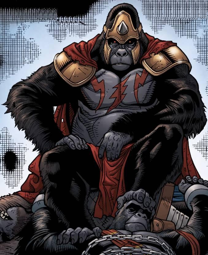 gorilla grodd rois DC Comics