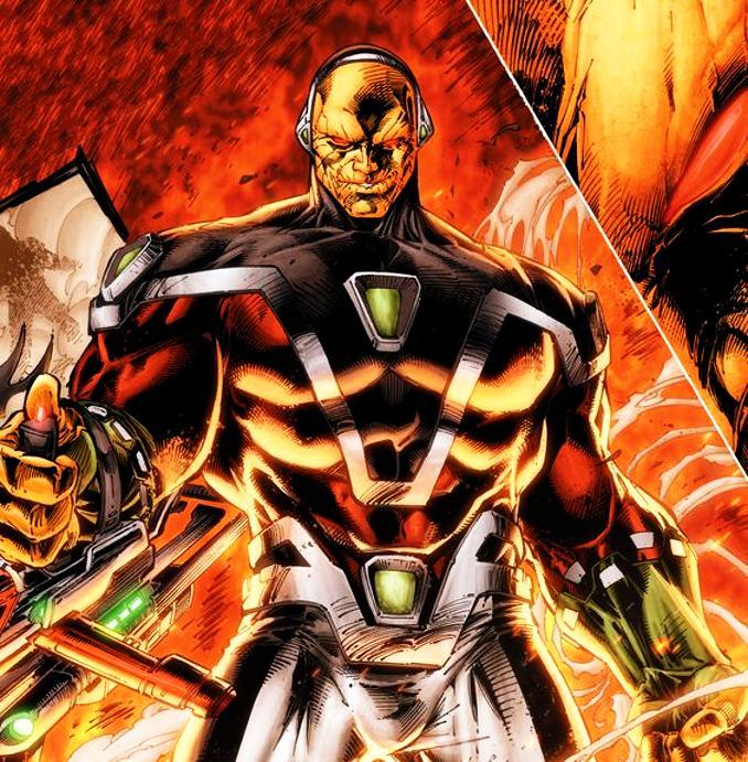 mongul rois DC Comics