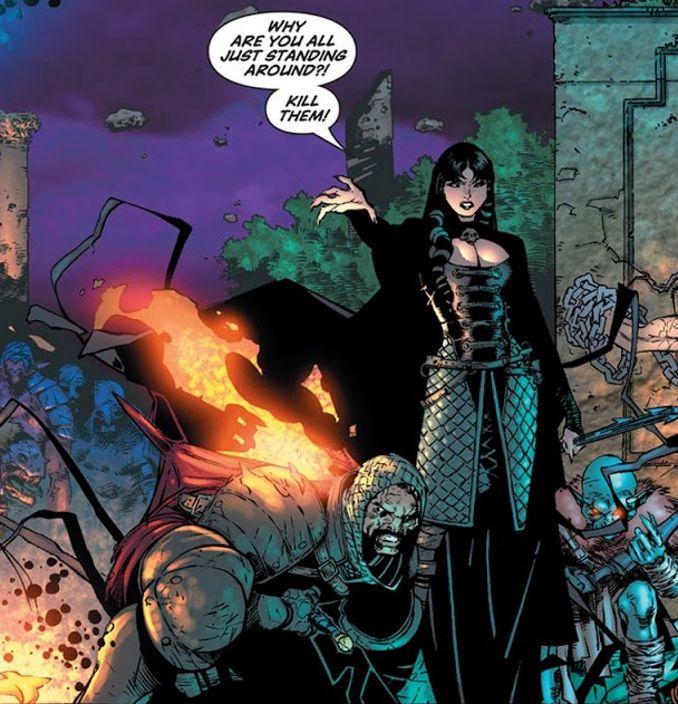 Black Knight Morgane la fée