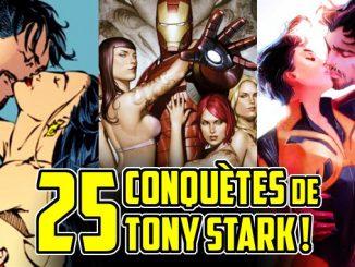 conquete femmes copines Tony Stark Iron Man
