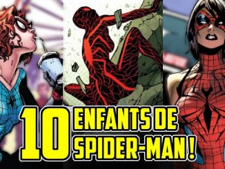 enfants spider-man