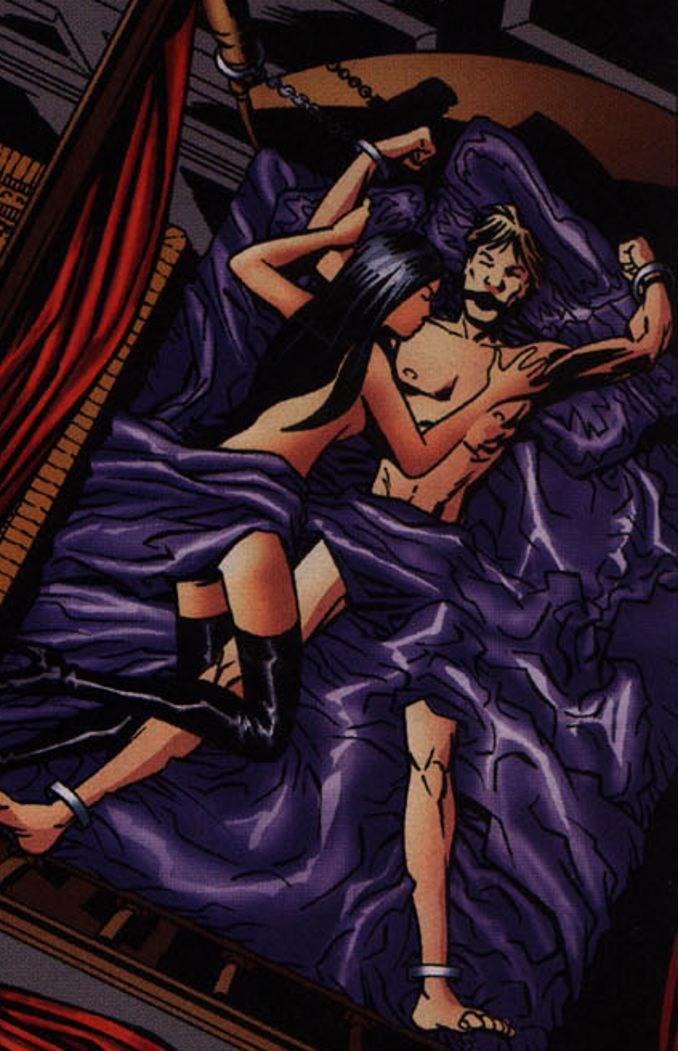 starlet equus comics bdsm bondage tenue