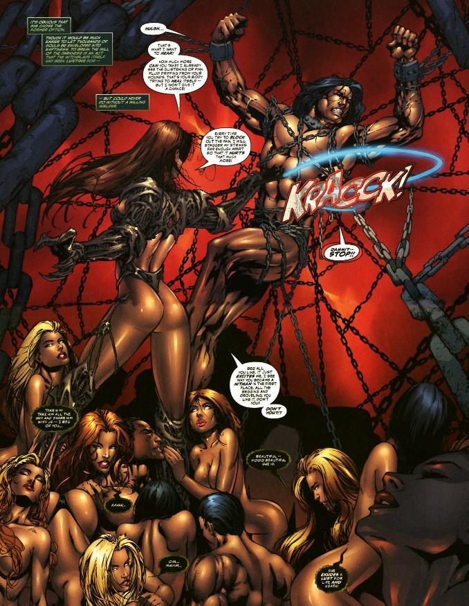 witchblade comics bdsm bondage tenue