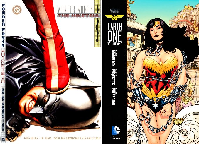 wonder woman comics bdsm bondage tenue