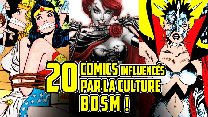 comics bdsm bondage tenue
