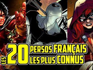 personnages comics français france