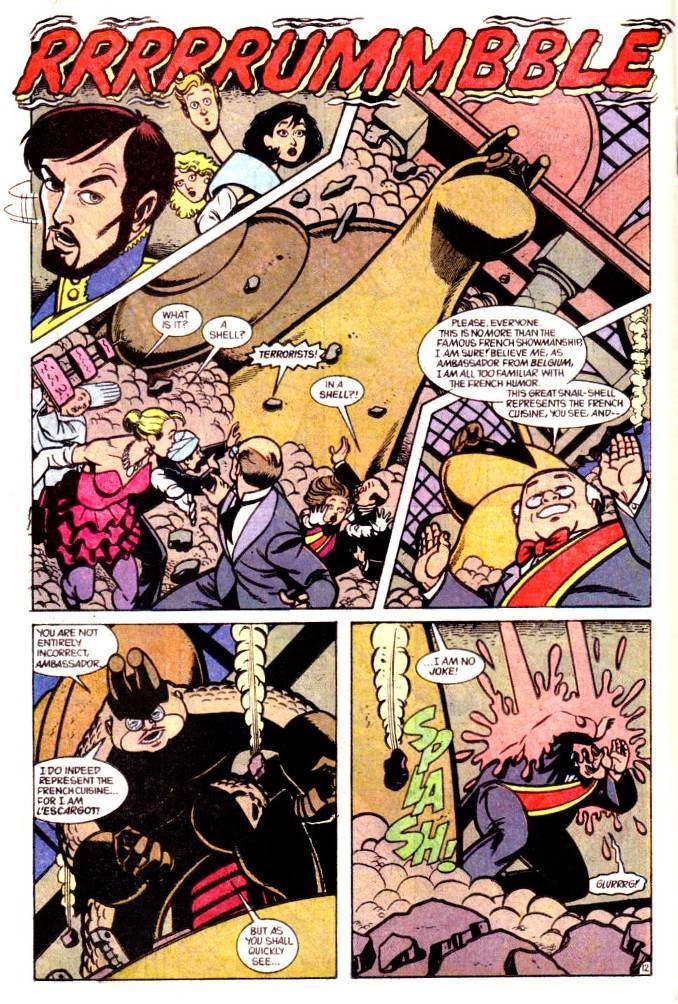 escargot personnages comics français france