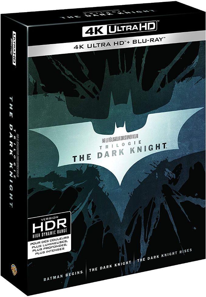 trilogie Batman Dark Knight 4K christopher Nolan