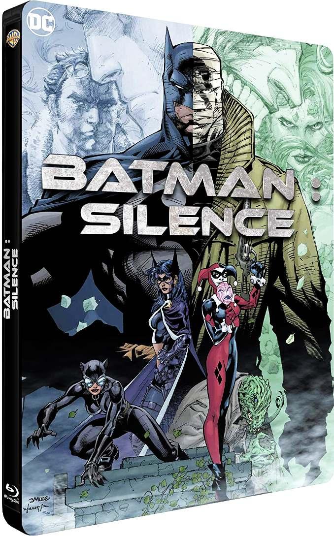 blu-ray dvd batman silence