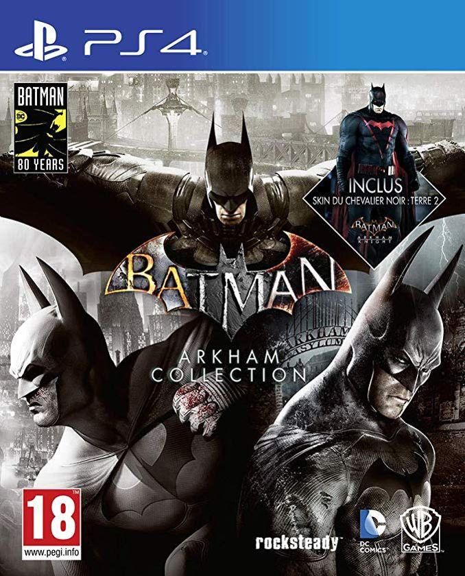 jeu vidéo batman arkham collection