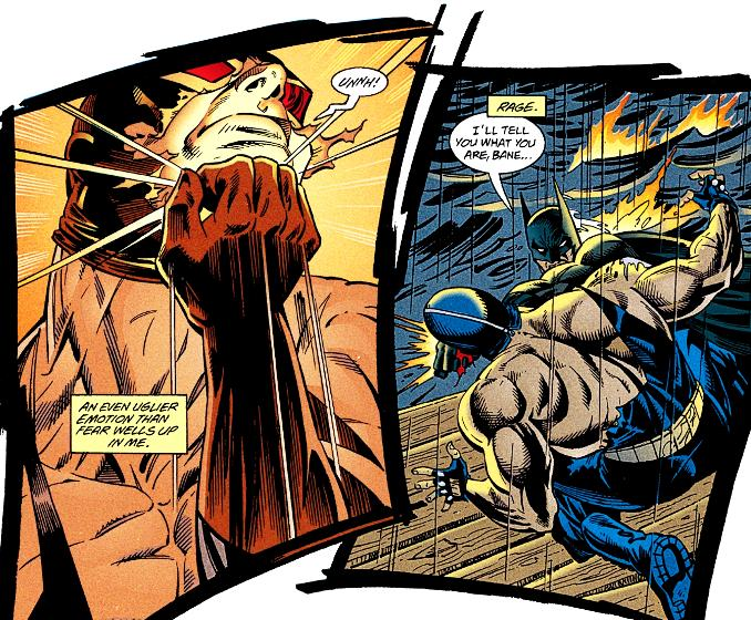 combat Batman bane