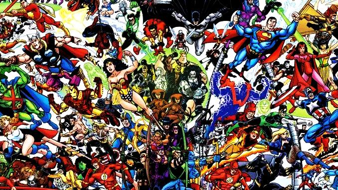 top100 marvel dc comics