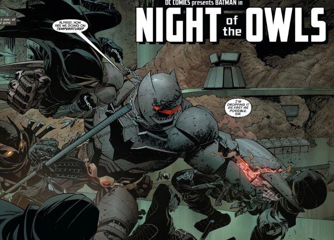 Batman armure costume nuit des hiboux