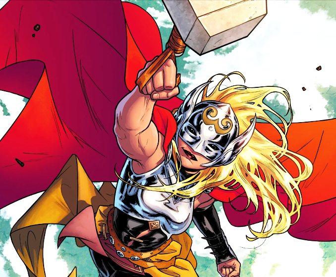 reine Marvel thor jane foster