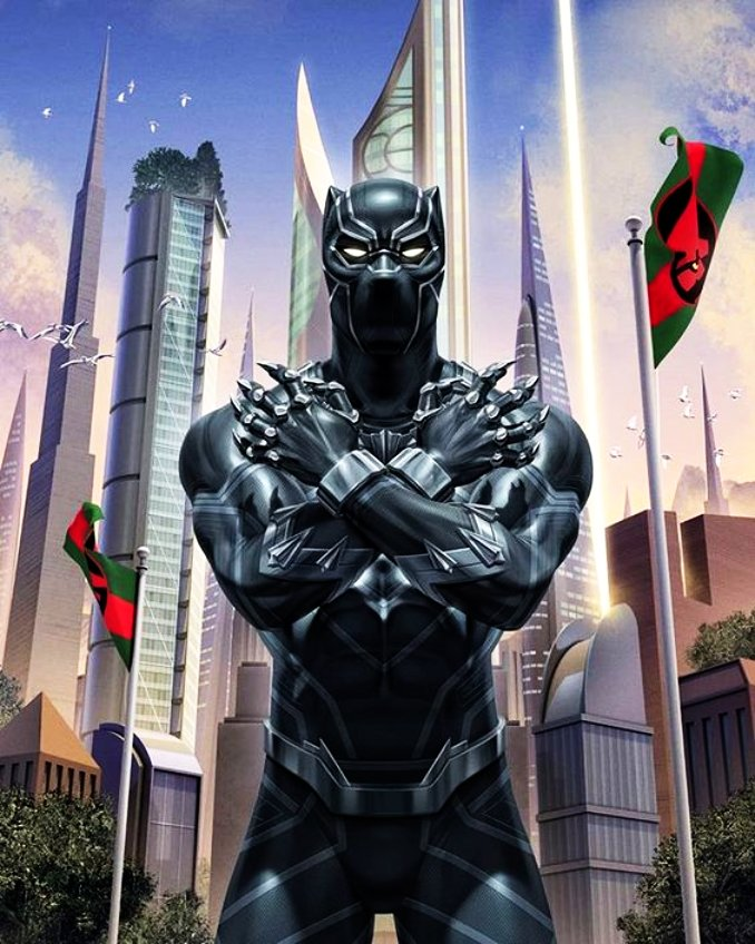 black panther riche