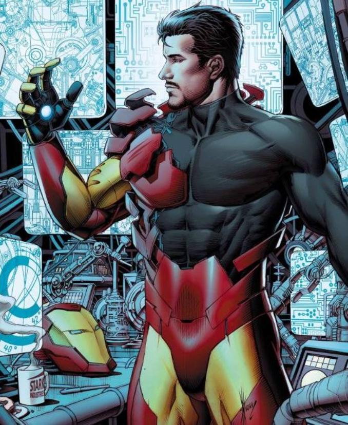 iron Man tony stark riche