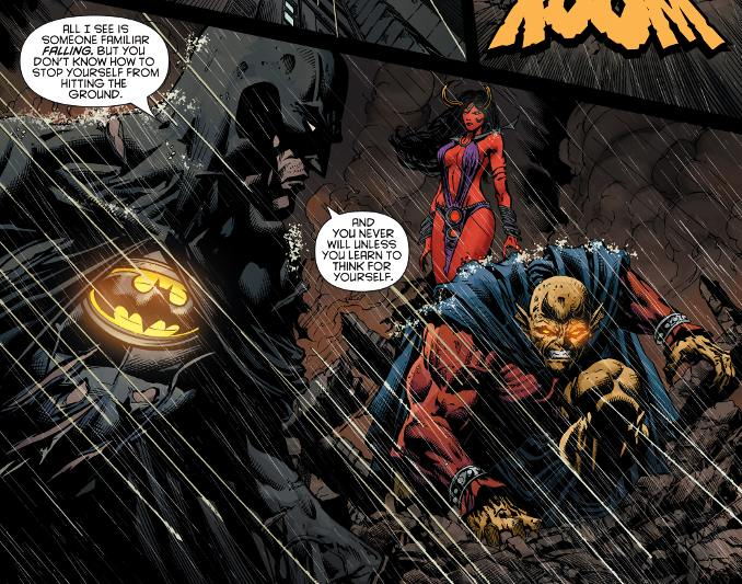 dieux Batman battus etrigan