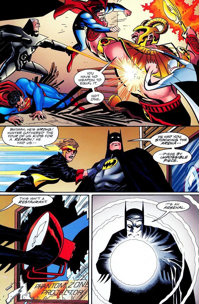dieux Batman battus gog