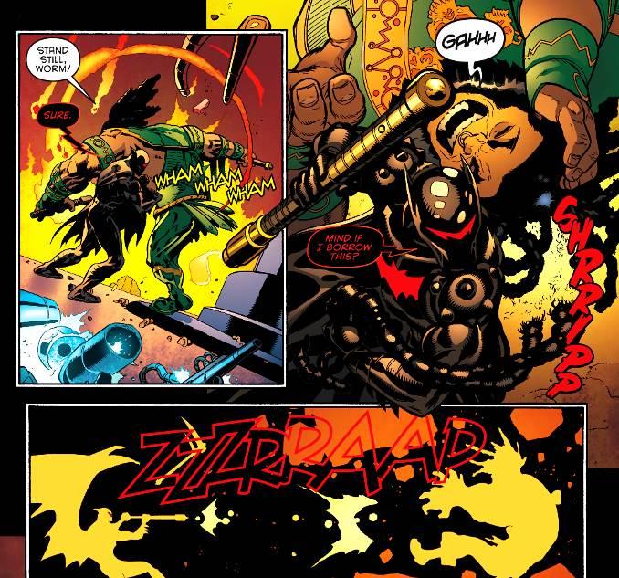 dieux Batman battus kalibak
