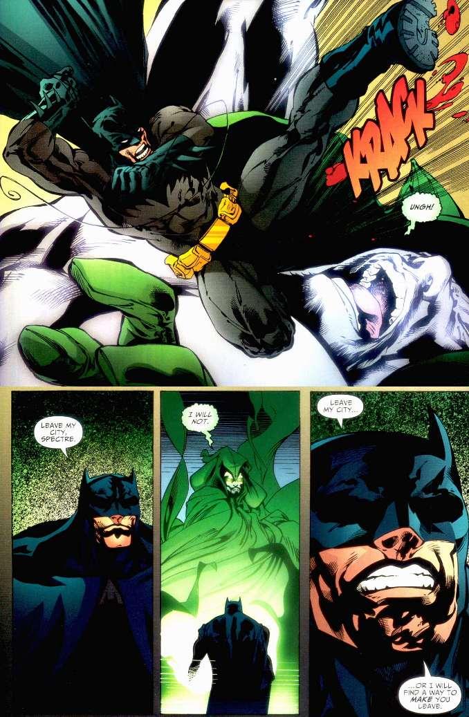 dieux Batman battus spectre