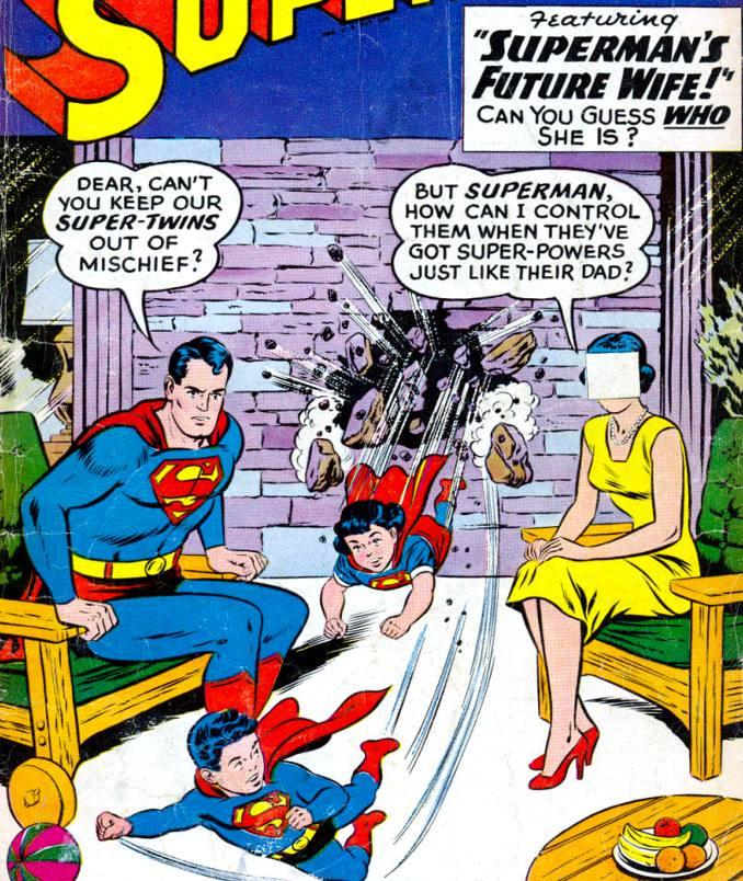 epouse Superman bébé