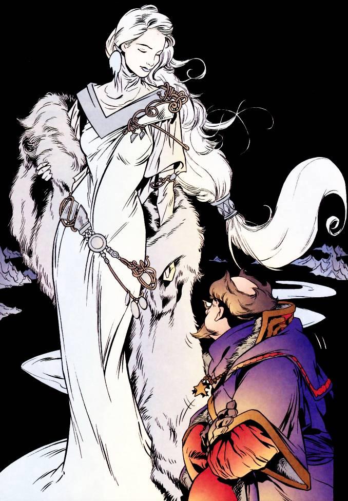 héroines Reine des Neiges