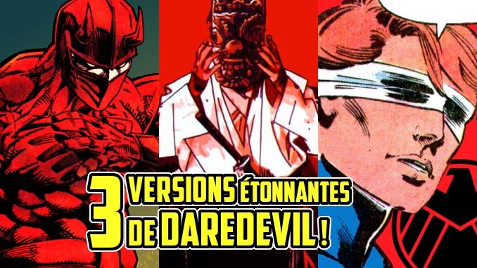 versions alternatives Daredevil
