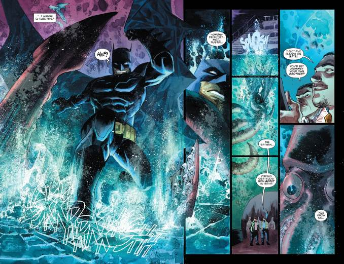 Batman anarky pieuvre géante