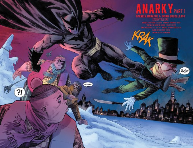 Batman anarky chapelier fou