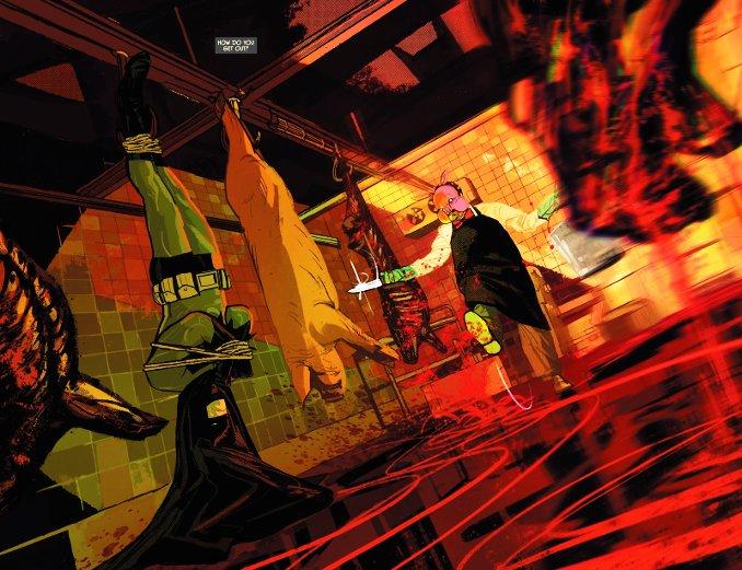 batman rebirth tome 10 Pr Pig abattoir