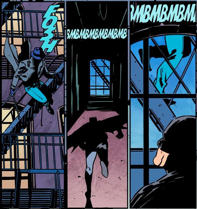 batman rebirth tome 10 escalier