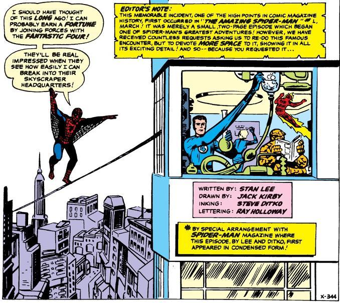 Decennies Marvel années 60