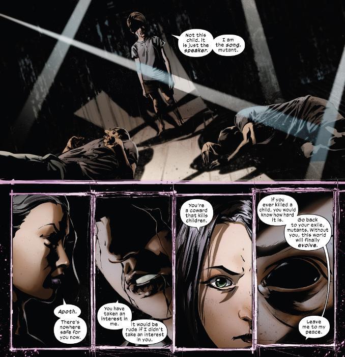 Fallen Angels 1 enfants yeux noirs