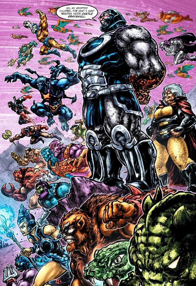 Injustice vs les maitres de l'univers darkseid neo-dieux