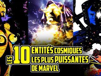 entités cosmiques Marvel