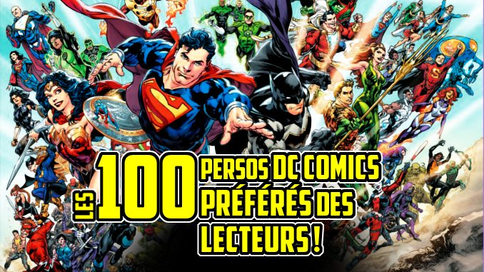 top 100 DC Comics