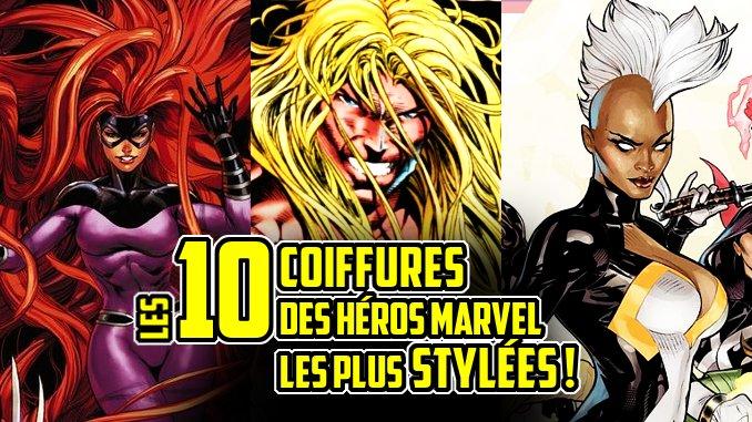 coiffures Marvel