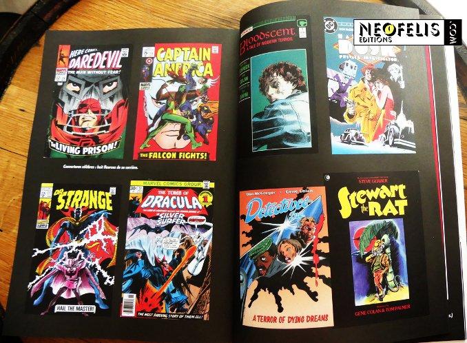 Gene Colan Les Maîtres de la BD américaine couvertures couleurs