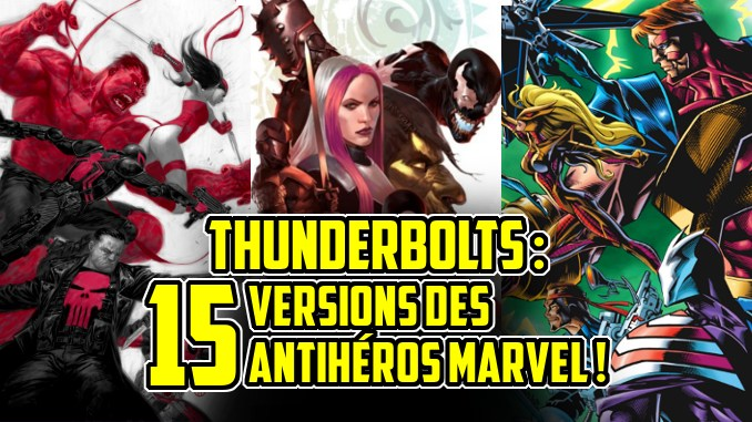 équipe Thunderbolts