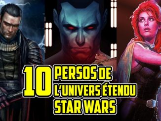 personnages Star Wars legende