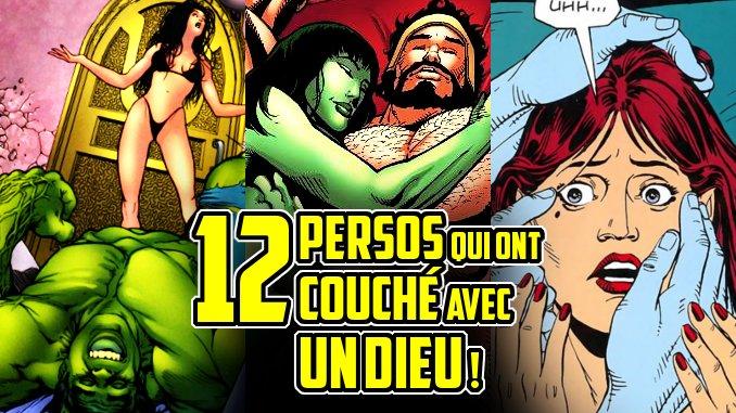 persos comics couché avec dieu