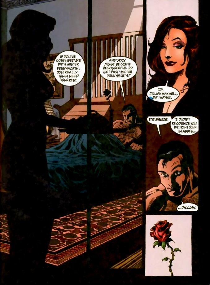 femmes Batman jillian maxwell